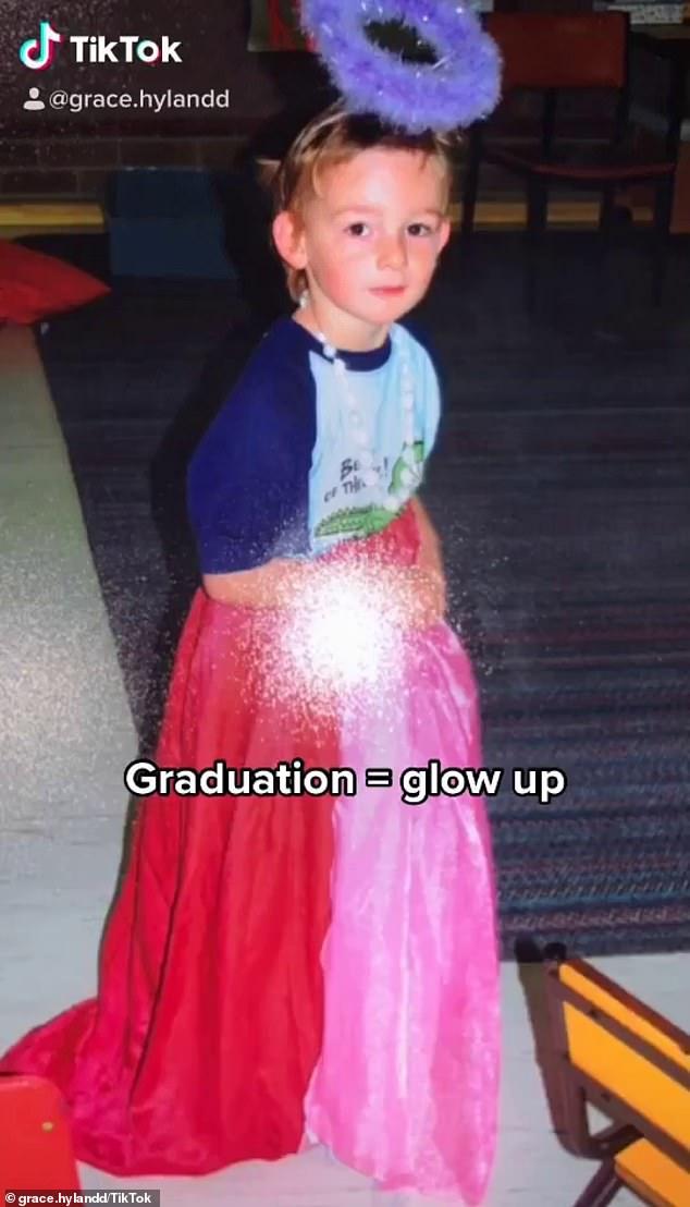 Transgender daughter of Home and Away star Mat Stevenson reveals her glamorous glow-up