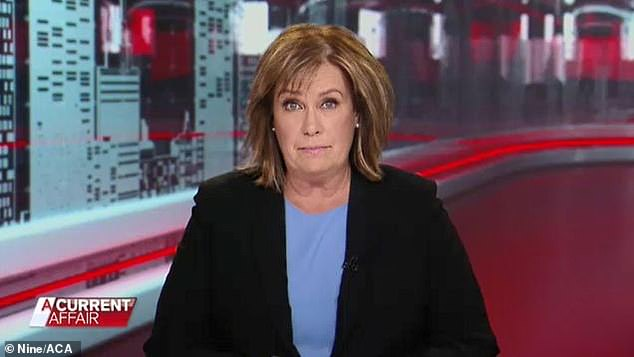 'They've made no secret they want Sylvia in that chair': The insider added that the Nine Network were trying to get Tracey (pictured) to do 'more specialised reporting' instead