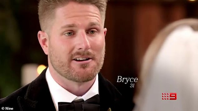 No comment! 'I have been a bit M.I.A, I've got to apologise for that,' said Bryce