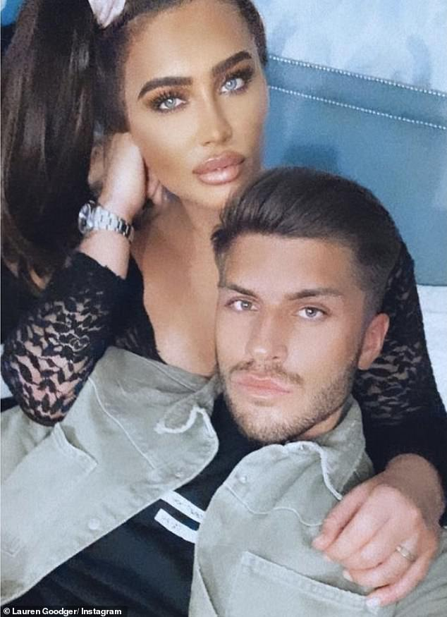 Whirlwind romance:The pregnancy comes after Lauren moved Charles, 23, whose former girlfriends include glamour model Katie Price, into her Essex home within weeks of meeting