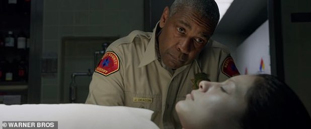 Serial killer thriller: Denzel will next play Kern County Deputy Sheriff Joe 'Deke' Deacon, who will hit American cinemas / HBO Max on 29 January and UK theaters on 12 February.