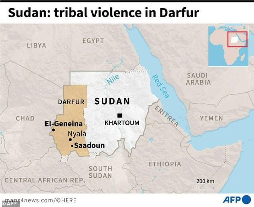 Sudan:tribal violence in Darfur