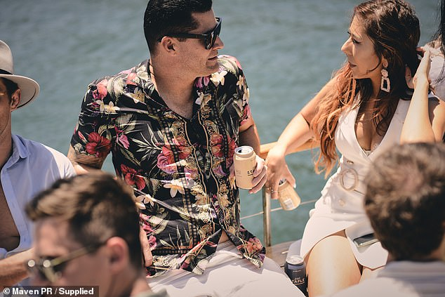 What a day: Reality TV stars sailed Sydney Harbor to the Flotespace and Staple Drinks summer party