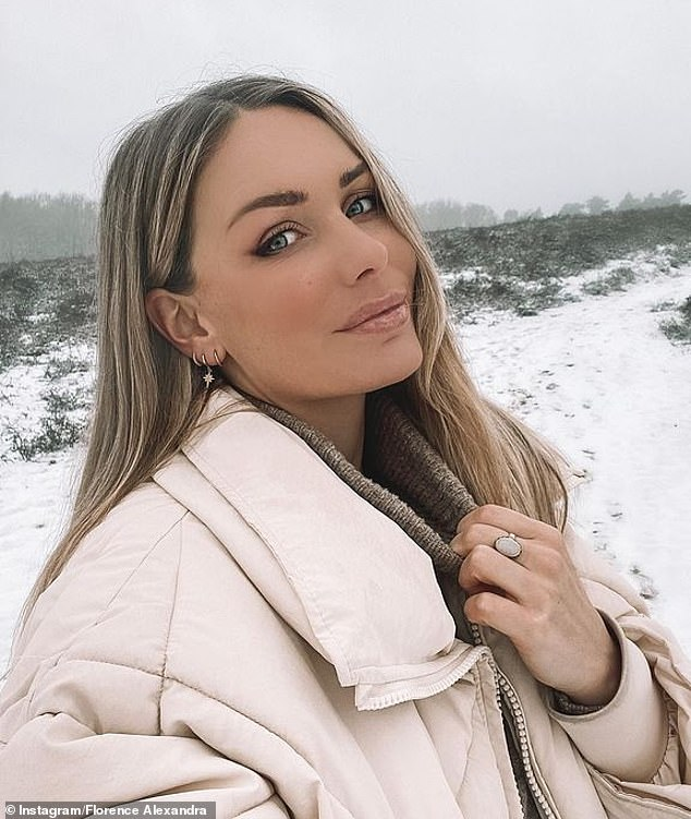 Travel restrictions: Former Bachelor star Florence Moerenhout revealed she struggled to return to Australia after traveling to the Netherlands to visit family