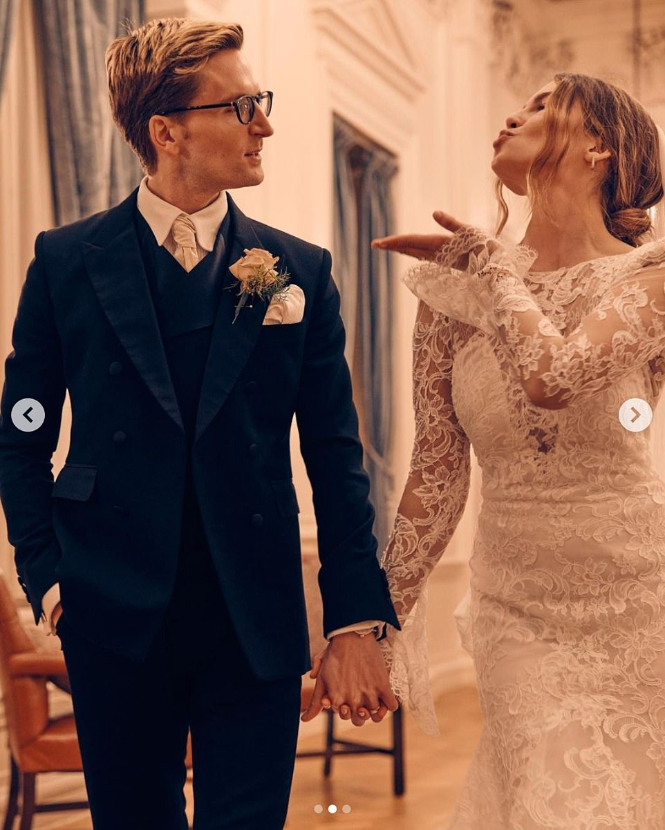 Man and wife! Made In Chelsea star Oliver Proudlock has married his love Emma Connolly.
