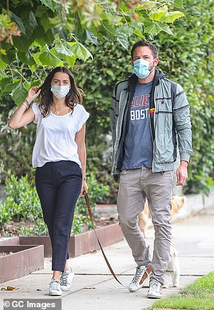 In different places: Several sources confirmed the split to People, with one insider revealing that Ana didn't want to be tied to Los Angeles, where Ben has to be based for his kids. The couple are seen here in July 2020