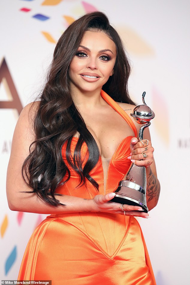 On hold:Bosses reportedly agreed the star-studded ceremony couldn't go ahead during the COVID-19 pandemic and have no plans to air the awards virtually (Jesy Nelson pictured)