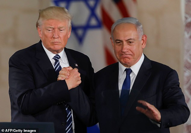 US President Donald Trump and Israel's Prime Minister Benjamin Netanyahu