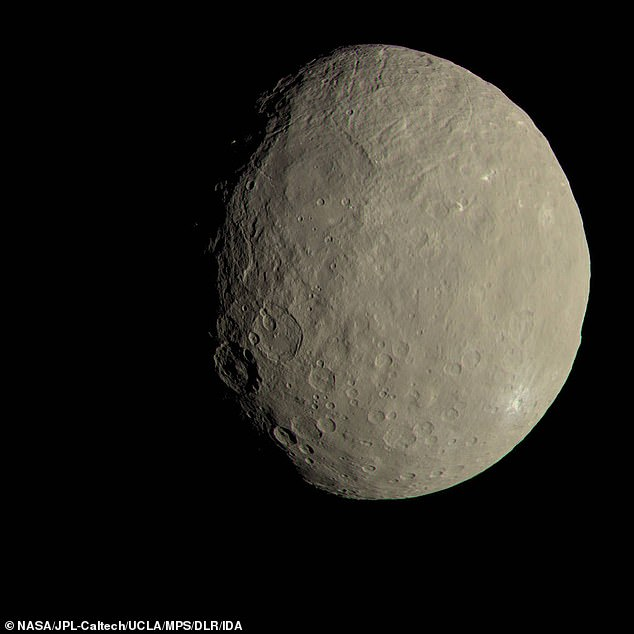 Ceres was chosen for its water and nitrogen necessary for air, along with its close proximity to the sun