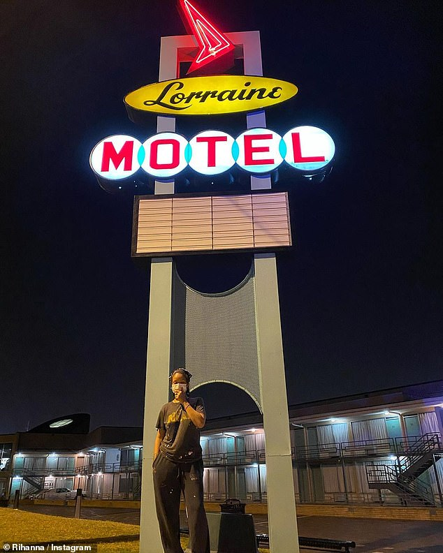 Rihanna shares recently found summer road trip photos from Lorraine Motel where MLK was assassinated