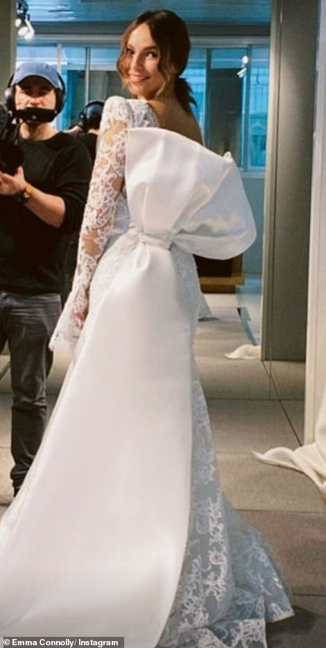 Newlywed: Emma is the new wife of Made In Chelsea star Oliver Proudlock