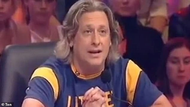 Blast from the past: Australian Idol judge Ian 'Dicko' Dickson (pictured) made offensive comments about Paulini's weight while she was on stage in 2003