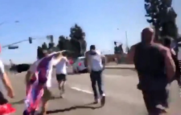 Turner faces attempted murder charges after she was filmed running over counter-protesters at a September 26 rally she organized in Yorba Linda