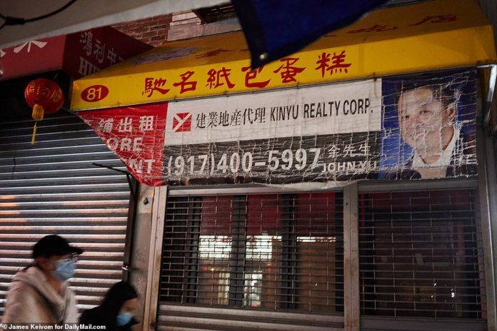 NEW YORK CITY: Dozens of businesses have closed with for sale and for lease signs lining every street