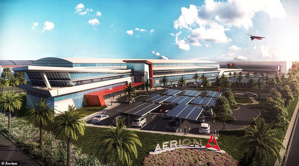 The arrival of a new era of commercial supersonic travel is approaching, with Aerion breaking ground on a state-of-the-art global HQ (pictured) for its supersonic business jet, the AS2, next to Orlando Melbourne International Airport