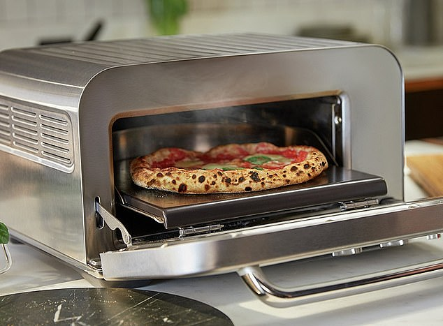 The Sage pizza oven (£699.99) is powered by algorithms that ensure even cooking