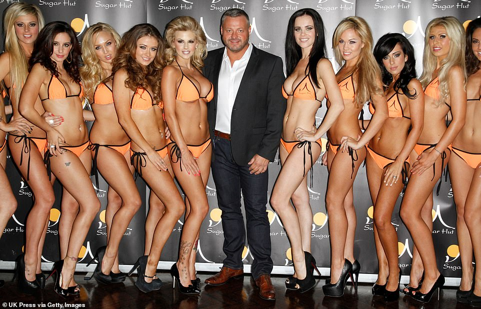 TOWIE star and former Sugar Hut owner Mick Norcross, pictured with an entourage of girls at the Essex nightclub, has been found dead aged 57