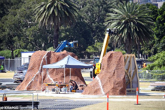 More never-before-seen photographs emerge of the incredible Thor set that's being built in Sydney