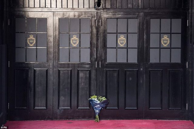 Flowers were left at theSugar Hut nightclub in Brentwood, Essex, after the death of businessman Mick Norcross, who owned it until 2019