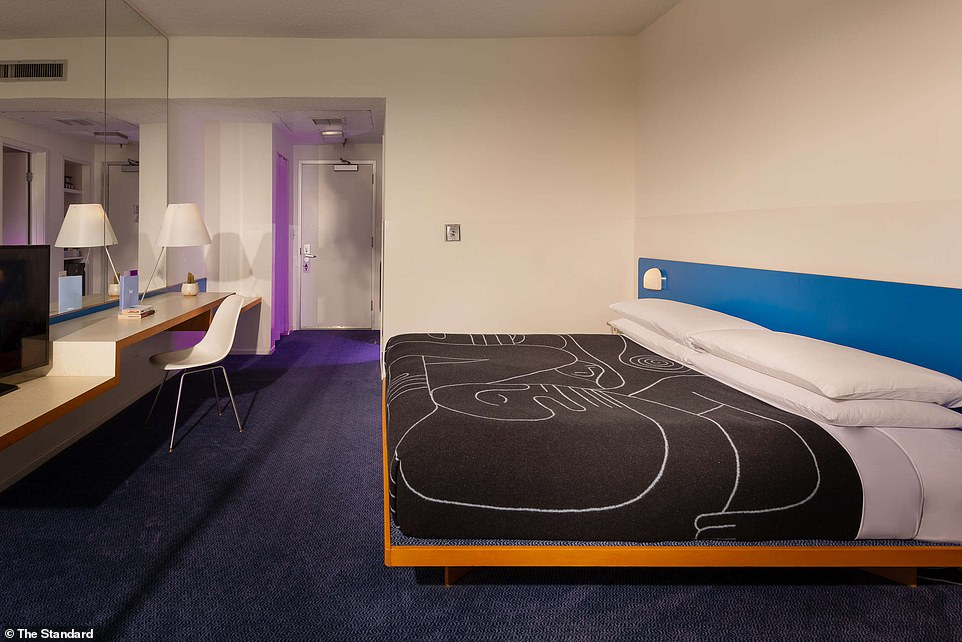 Chic: interiors were designed by movie designer Shawn Hausman