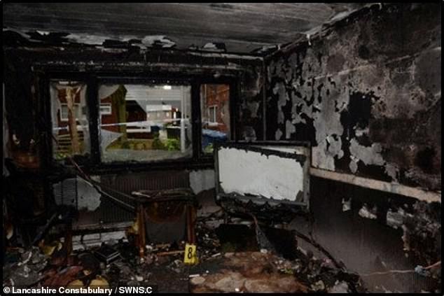 Шокирующие снимки показывают обугленные останки его квартиры после нападения, в результате которого мистер Битти получил «обширные и обширные ожоги», которые он не смог пережить.