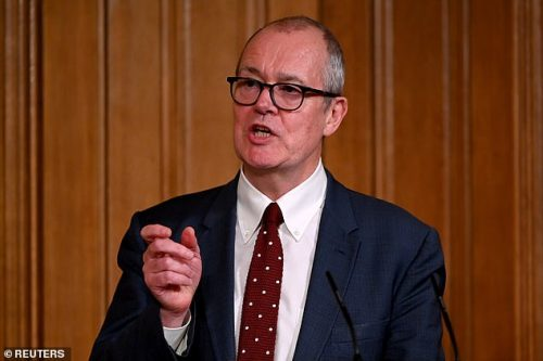 Sir Patrick Vallance today said it was too early too draw conclusions from Israel's vaccination drive after alarm that hospitalisations have not yet dropped