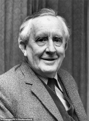 JRR Tolkien (pictured) and CS Lewis's literary group the Inklings were also known to frequent the pub between the early 1930s and late 1949