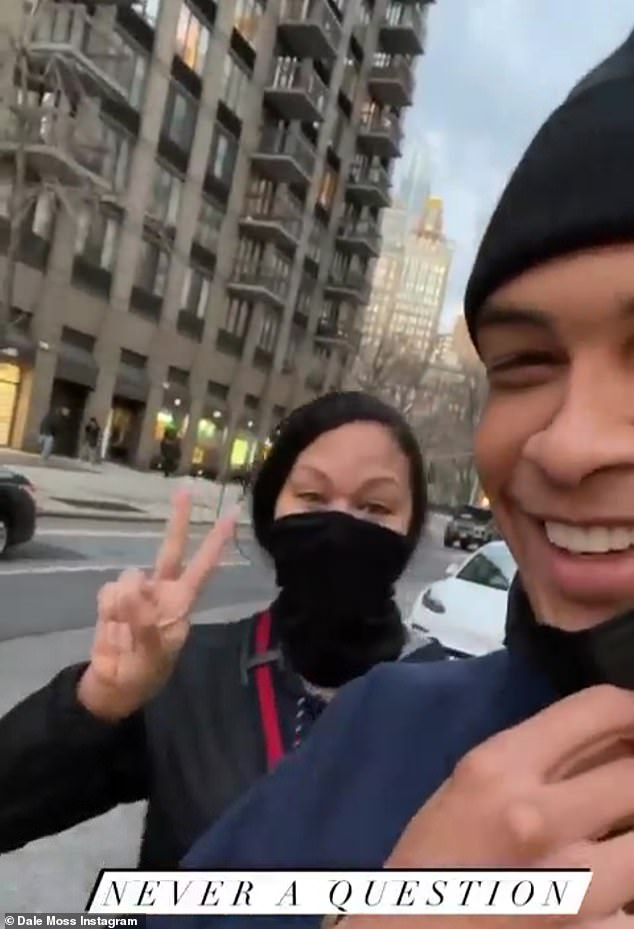 Lifting his spirits: Robynwrote in the now closed comments section: 'Super sorry you can't post a picture of you smiling with your sister either. I came here to lift your spirits up after everything you've had to go through'