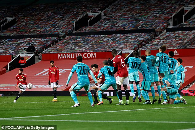 The Portuguese star came off the bench and provided the crucial moment at Old Trafford