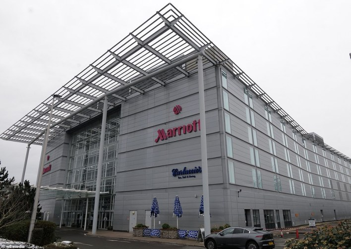 Marriott are also said to have held discussions with the Government having opened its doors to quarantining people in other parts of the world