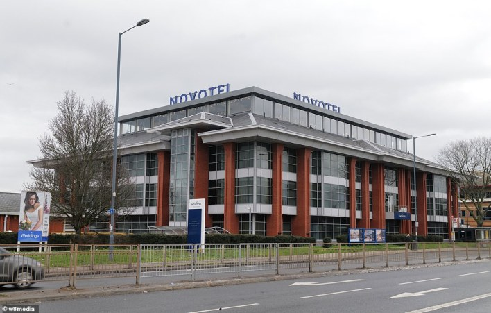 Novotel (pictured at Heathrow) has been used by the Australian government for quaranting purposes and could do the same for the UK
