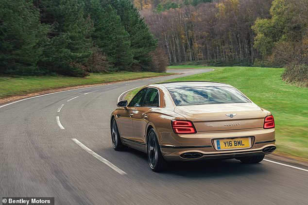 From the outside, apart from the 'V8' badge and new quad oval tailpipes, you'd be hard-pushed to spot the difference between it and the mightier W12