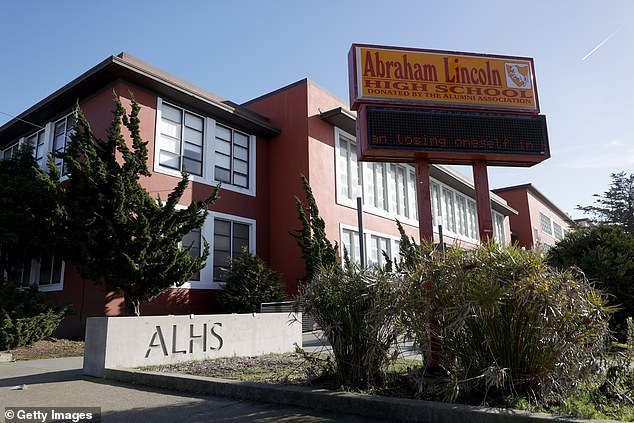 Abrahan Lincoln High School.A San Francisco school names advisory committee recommended to remove Abraham Lincoln's name from the school for the 16th President's past treatment of Native Americans