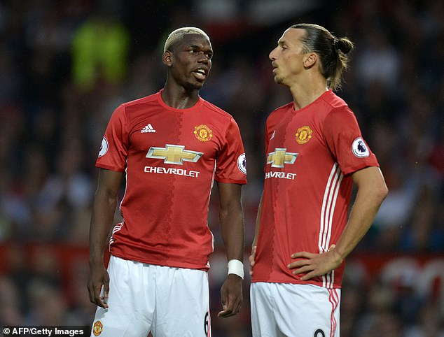 Paul Pogba has leaped to the defence of Ibrahimovic in his row with Lukaku by insisting his former Manchester United team-mate is not a racist