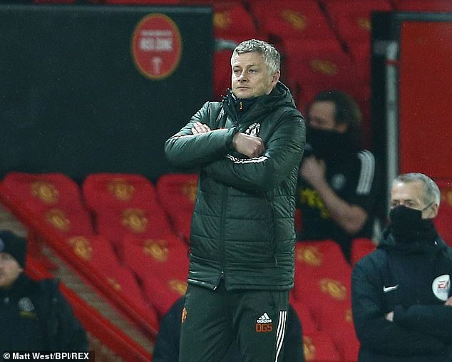 Ole Gunnar Solskjaer was also critical of the refereeing performance on Wednesday night