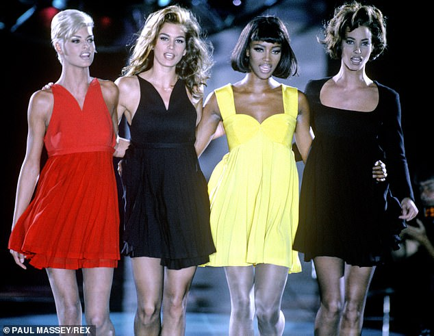 A show about these four: This comes after news Christy as well as Cindy Crawford, 53, Linda Evangelista, 55, and Naomi Campbell, 50, are getting a special show: the docuseries The Supermodels which has been picked up by Apple