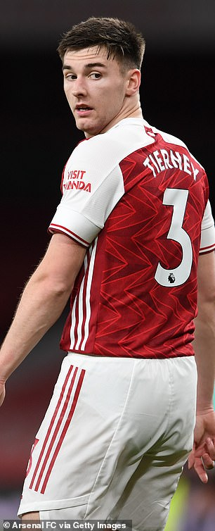 Kieran Tierney has been a consistent presence in the Gunners defence