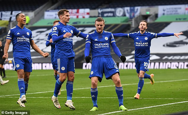 At the time of writing Leicester are third in the Premier League, two points off first position