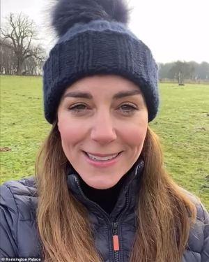 Kate Middleton is sending a message to mark Children's Mental Health Week