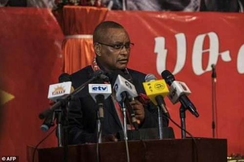 Debretsion Gebremichael, president of Tigray when the fighting started, has remained on the run