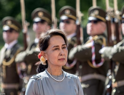 Aung San Suu Kyi is 'feeling well' and taking walks in the ...