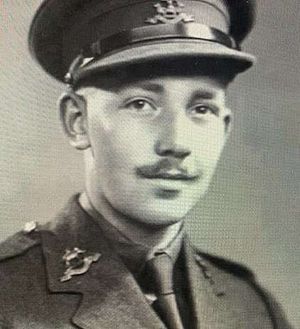 Colonel Tom pictured during the Second World War. Boris Johnson described him as a national treasure during the Covid-19 crisis after raising almost £33million for the NHS