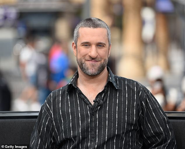 Dustin Diamond ignored a 'huge lump' on his neck before he died from cancer, according to new reports. The Saved By The Bell star, 44, passed away in Florida on Monday, just three weeks after being diagnosed with stage 4 small-cell lung carcinoma. He is pictured in 2016
