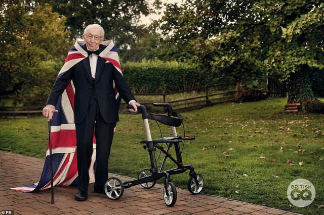 After an incredible life, Captain Sir Tom Moore has died at the age of 100. Last November the fundraising hero and Second World War veteran became the oldest person to ever appear on the cover British GQ magazine