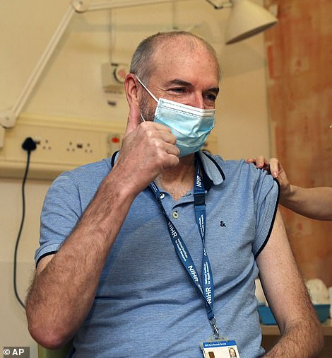 The lead investigator of Oxford University's Covid jab study, Dr Andrew Pollard