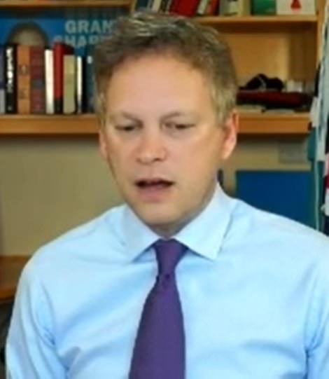 Transport Secretary Grant Shapps struck a different tone as he gave evidence to MPs. He insisted the UK could not do a full Australia-style lockdown with blanket 'hotel quarantine' rules because it was an 'island' and needed food imports