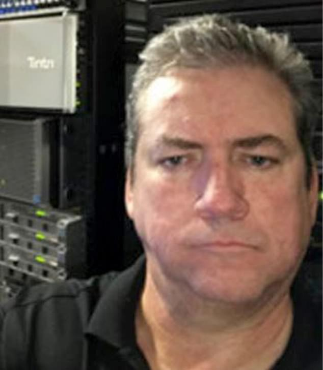 Huber was a 55-year-old IT expert who lived alone in Sunrise, just outside Fort Lauderdale