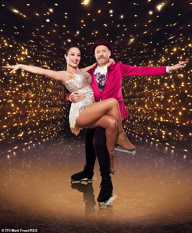 Axed! Rufus Hound, 41, will play no further part in the current series of Dancing On Ice after testing positive for COVID-19 for a second time
