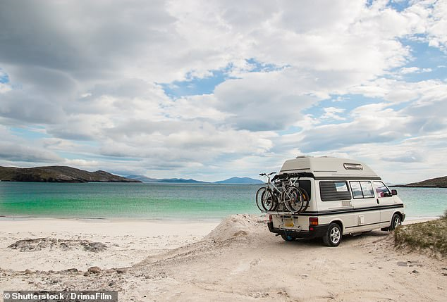 The average value of campervans in the UK is £14,406, according to insurance quotes in the last 2 years. However, just 6% have trackers, says Quotezone