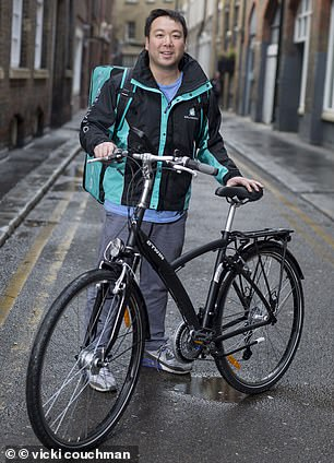 On a roll: Deliveroo founder William Shu